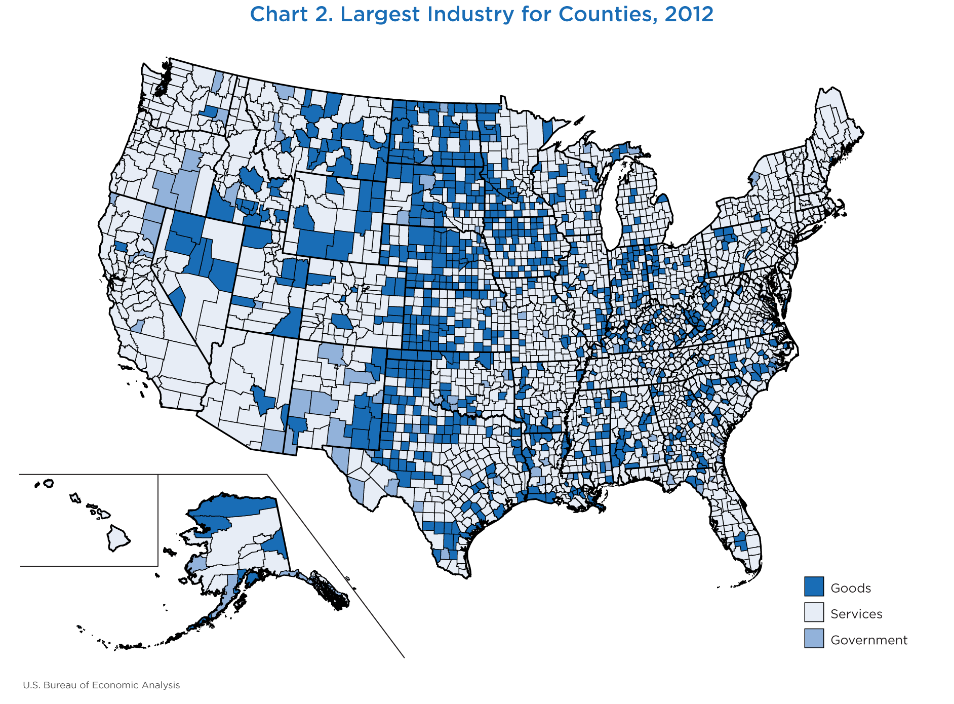 New County-Level Gross Domestic Product, Survey of Current