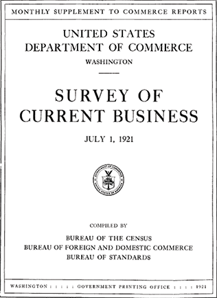 The Survey of Current Business Is Turning 100 image